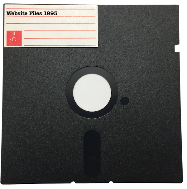 Floppy Disk Website Files Picture
